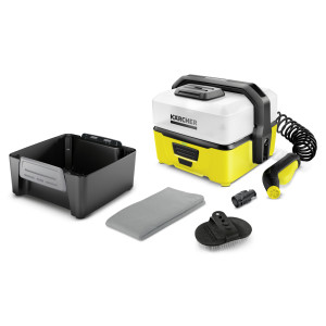 Mobile Outdoor Cleaner Karcher OC 3 с комплектом для очистки животных